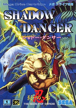 Shadow Dancer: The Secret of Shinobi Cover Box
