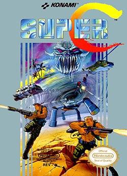 Super Contra Cover Box