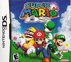 Super Mario 64 DS Cover Box