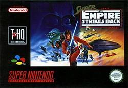 Super Star Wars: The Empire Strikes Back Cover Box