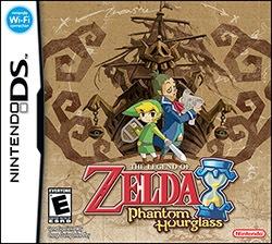 The Legend of Zelda: Phantom Hourglass Cover Box