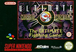Ultimate Mortal Kombat 3 Cover Box