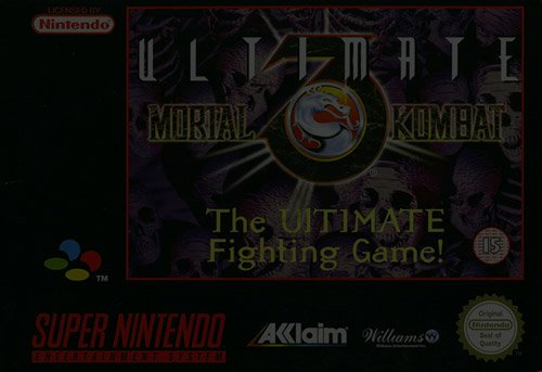 Ultimate Mortal Kombat 3 - Super Nintendo (SNES)