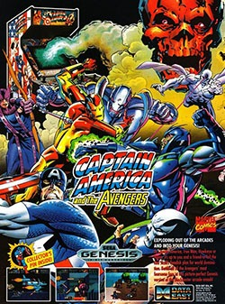 Captain America and The Avengers Cover Box