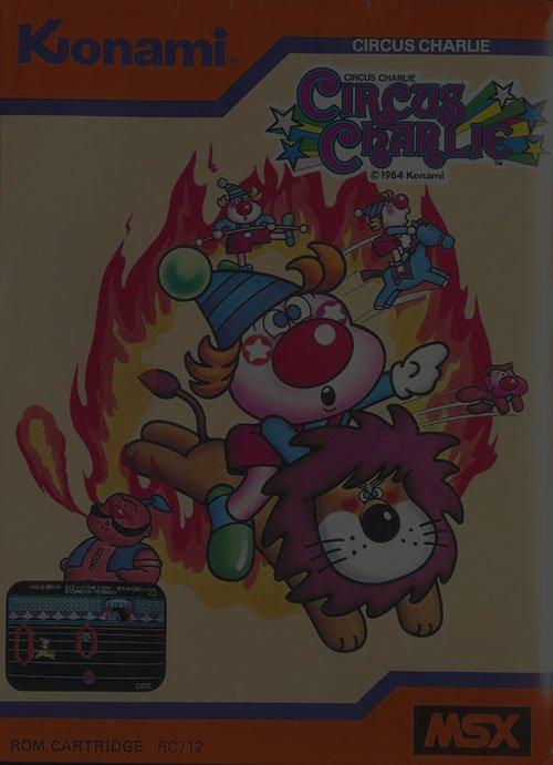 Circus Charlie - NES Nintendo