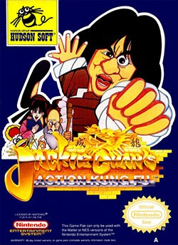 Jackie Chan's Action Kung Fu Cover Box