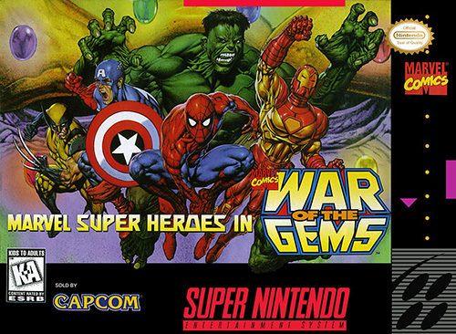 Marvel Super Heroes: War of the Gems