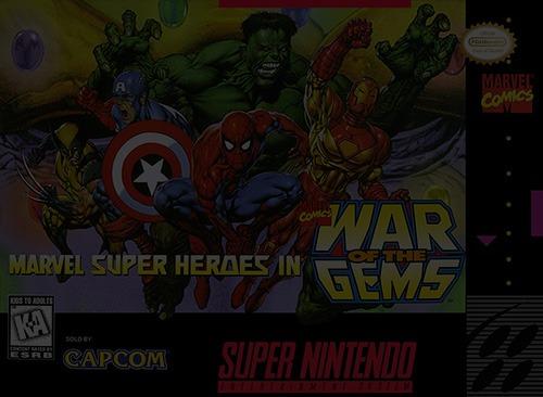 Marvel Super Heroes: War of the Gems - Super Nintendo (SNES)