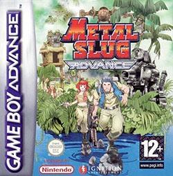 Metal Slug Advance Cover Box