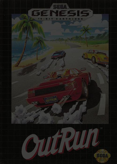 Out Run - Sega Genesis