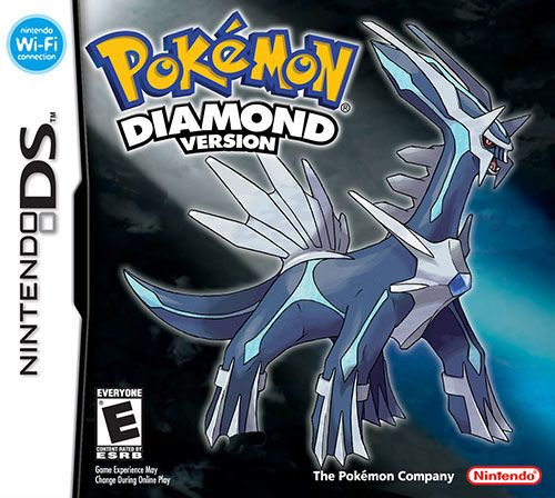 Pokemon Diamond Version Cover Box