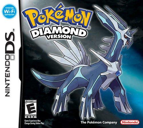 Pokemon Diamond Version Cover Box