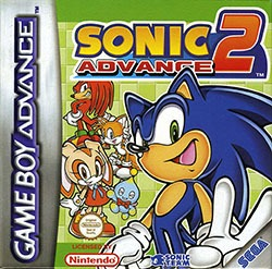 Sonic Advance 2 Cover Box