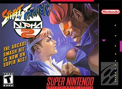 Street Fighter Alpha 2 Cover Box
