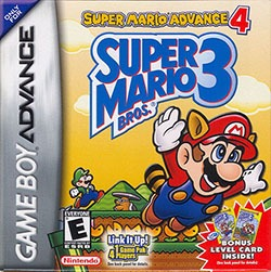 Super Mario Advance 4: Super Mario Bros. 3 Cover Box
