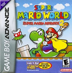 Super Mario World: Super Mario Advance 2 Cover Box