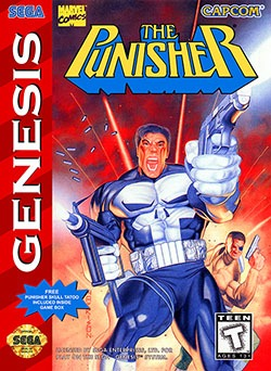 The Punisher Cover Box