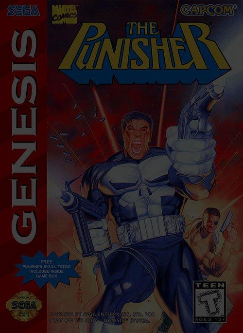The Punisher - Sega Genesis