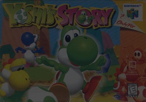 Yoshi's Story - N64 Nintendo 64