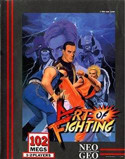 Art of Fighting Cover Box
