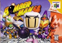 Bomberman 64 Cover Box