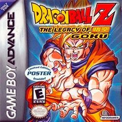 Dragon Ball Z: The Legacy of Goku Cover Box