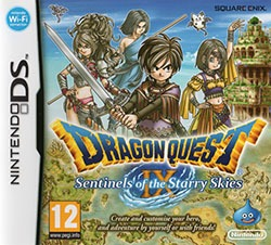 Dragon Quest IX: Sentinels of the Starry Skies Cover Box