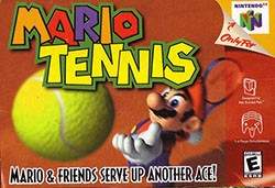 Mario Tennis 64 Cover Box
