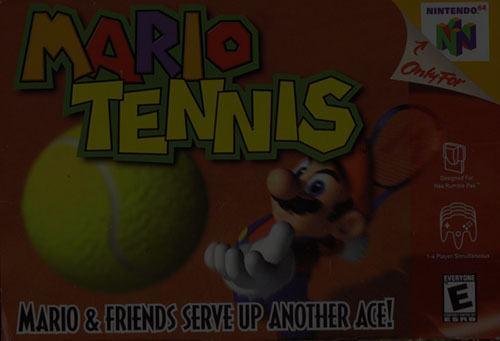 Mario Tennis 64 - N64 Nintendo 64