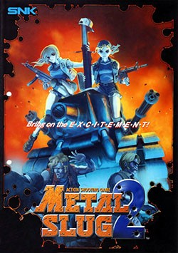 Metal Slug 2 Cover Box