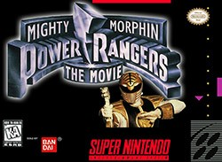 Mighty Morphin Power Rangers: The Movie Cover Box