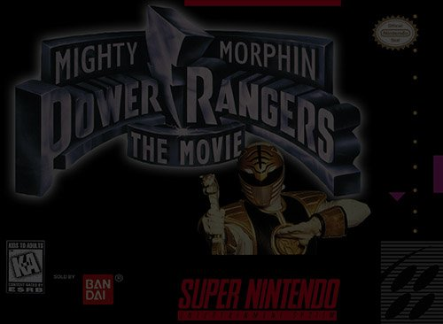 Mighty Morphin Power Rangers: The Movie - Super Nintendo (SNES)