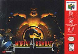 Mortal Kombat 4 Cover Box