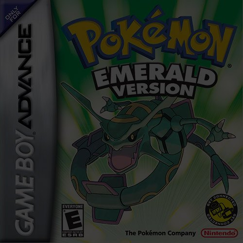 Pokemon Emerald Version - Game Boy (GBA)