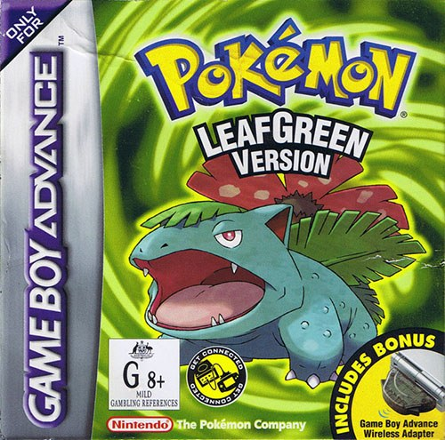 pokemon leaf green how to catch