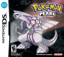 Pokemon Pearl Version Cover Box