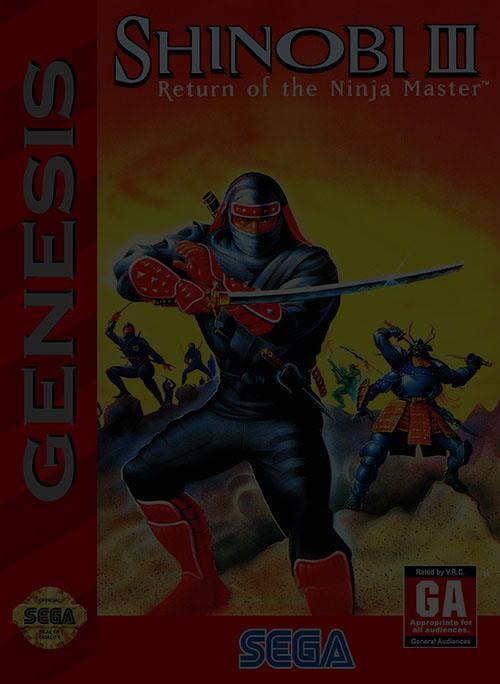 Shinobi 3: Return of the Ninja Master - Genesis