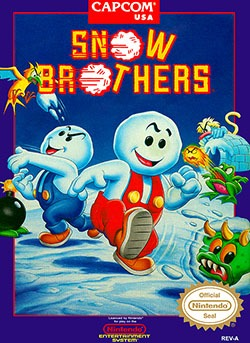 Snow Bros. Cover Box
