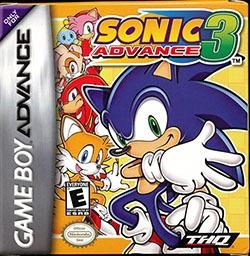 Sonic Advance 3 Cover Box