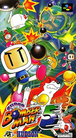 Super Bomberman 5 Cover Box