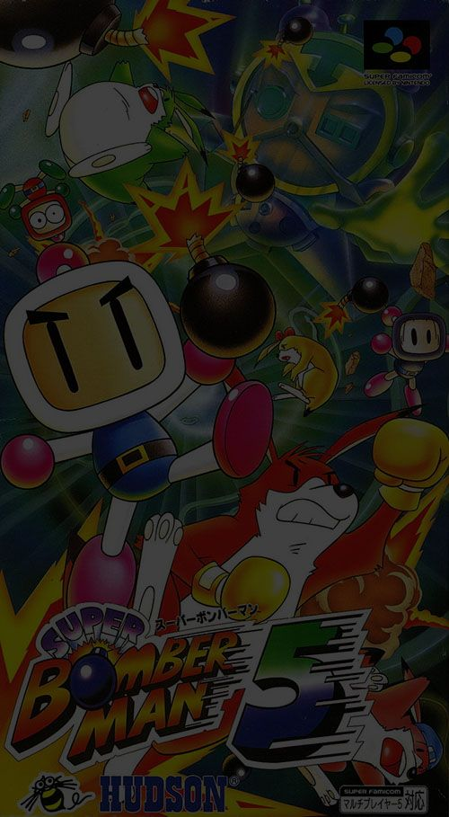 Super Bomberman 5 - Super Nintendo (SNES)