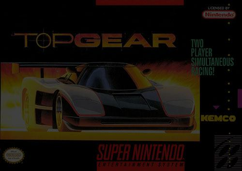 Top Gear - SNES