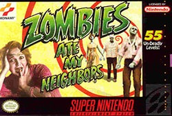 Zombies Ate My Neighbors Cover Box