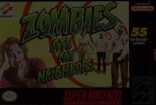 Zombies Ate My Neighbors - Super Nintendo (SNES)