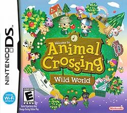Animal Crossing: Wild World Cover Box