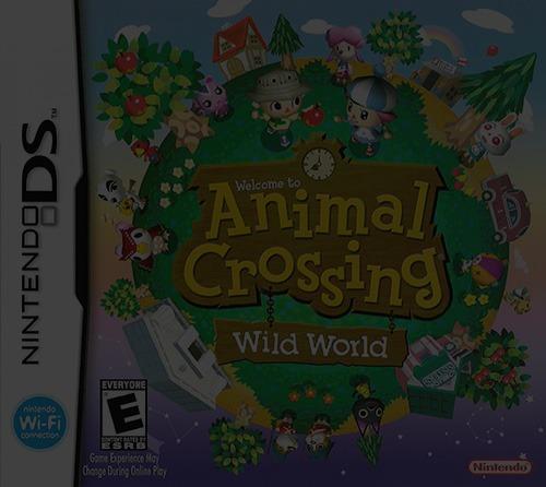 Animal Crossing: Wild World - NDS Nintendo DS