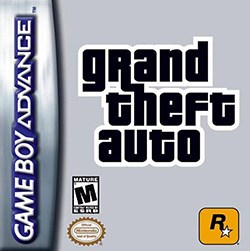 Grand Theft Auto Advance (GTA) Cover Box