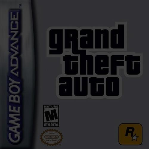 Grand Theft Auto Advance (GTA) - Game Boy (GBA)