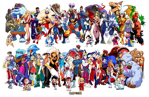 All Capcom Characters