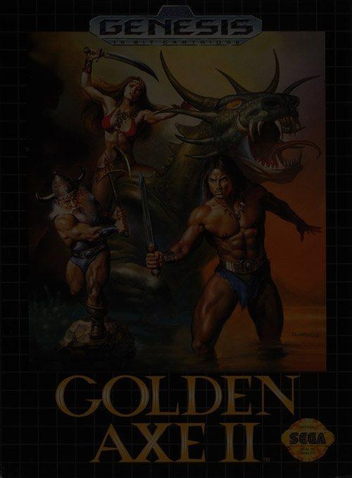 Golden Axe 2 - Sega Genesis